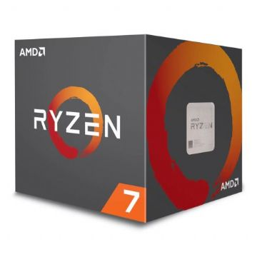 AMD Ryzen 7 2700 CPU with Wraith Cooler, AM4, 3.2GHz (4.1 Turbo)